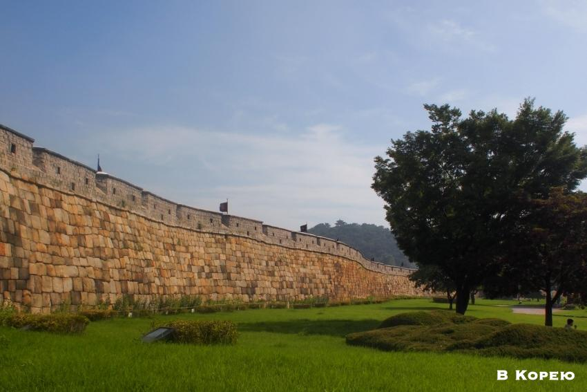 стены крепости Хвасон 1