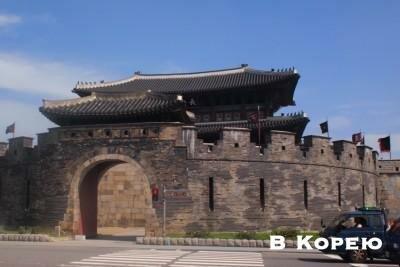 вход в замок